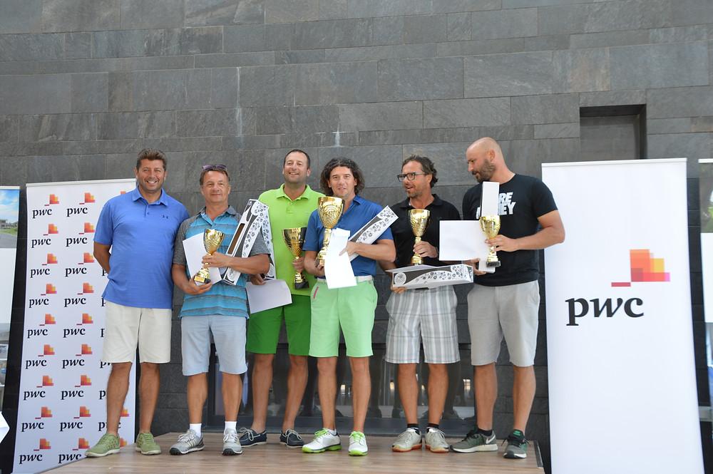 A magyar nettó férfi kategória 1-6 helyezettjei
