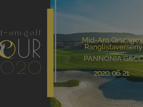 Folytatódik a Mid-Am Golf Tour 2020