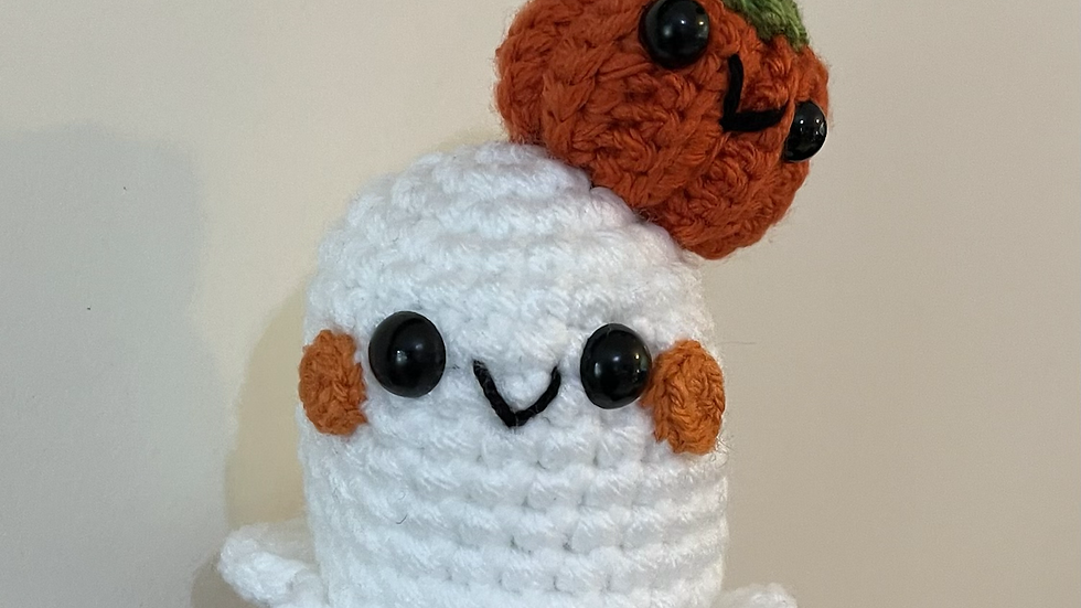 Mr Pumpkin head ghost