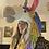 Thumbnail: Handmade crochet unicorn festival hat.