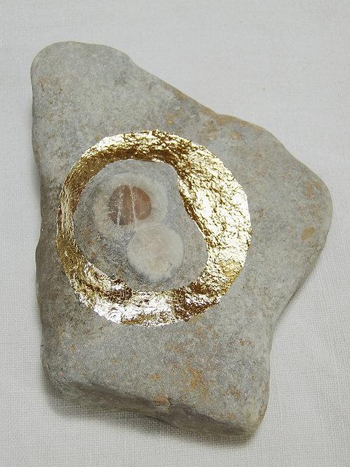 Gold Leaf Stone
