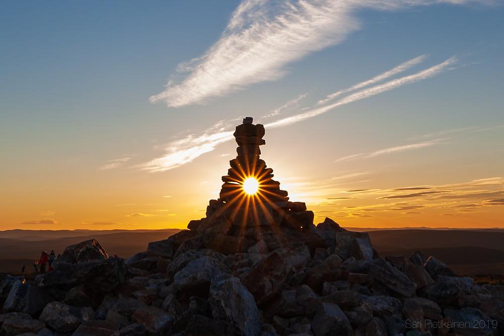 Keskiyön aurinko Kiilopäällä