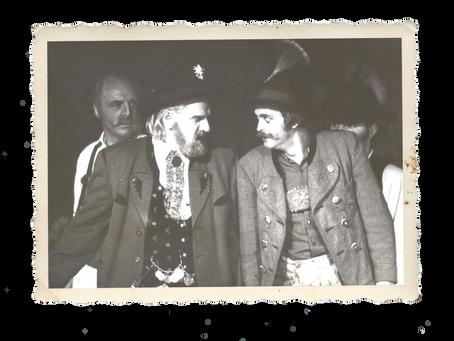1972 - Bavarica Literatur –                      Der Wildschütz wird aufpoliert