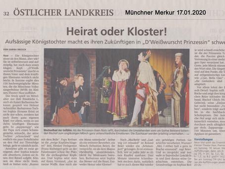Münchner Merkur Ausgabe 17.01.2020