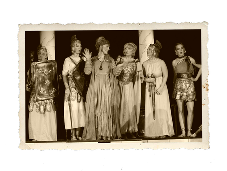 2012 - Bayrische Griechen auf der Akropolis