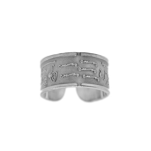 BioSignatures Ring in Sterling Silver