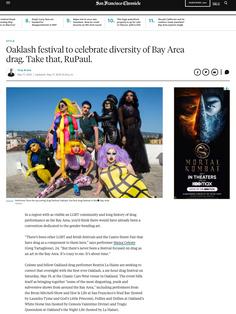 Oaklash festival to celebrate diversity of Bay Area drag. Take that, RuPaul
