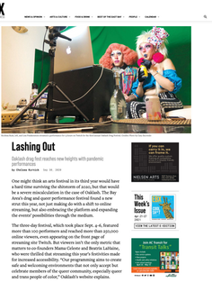 Lashing Out: Oaklash Drag Fest Reaches New Heights with Pandemic Performances