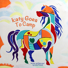 Katy goes to camp book cover