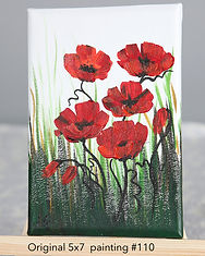 flower picture gift card