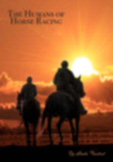 race horses at sunrise