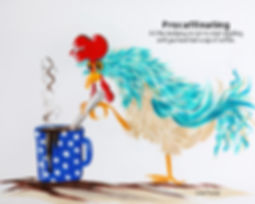 8x10 chicken drinking coffee.jpg