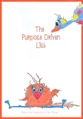 the purpose driven list book cover