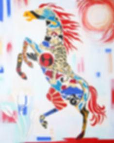 16x20 japanese heritage horse.jpg