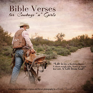 Bible verses for cowboys and cowgirls book by Linda Finstad