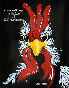 funky chicken, art by Linda Finstad