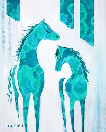 sm green horses.jpg