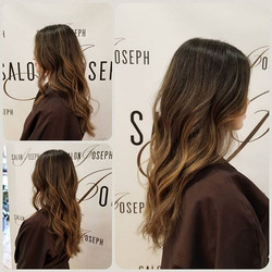 A touch of honey balayage.