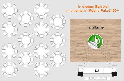 günstiger DJ-Stellplatz
