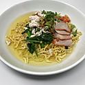 Egg Noodle Soup with Roasted Pork & Ground Chicken / บะหมี่น้ำ