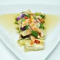 Eggplant Shrimp Salad / ยำมะเขือ