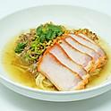 Tom Yum Noodle Soup with Roasted Pork & Ground Chicken / ก๋วยเตี๋ยวต้มยำหมูแดงไก่สับ