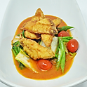 Tilapia & Mixed Vegetable Sweet & Sour Curry / แกงส้มผักรวมปลานิล