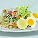 Stir-Fried Rice with Salty Fish / ข้าวผัดปลาเค็ม