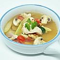 Spicy-Sour Soup with Tilapia / ต้มแซ่บปลานิล