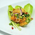 Spicy Crispy Tilapia Salad / พล่าปลากรอบ