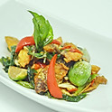 Spicy Stir-Fried Catfish / ผัดฉ่าปลาดุก