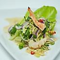 Spicy Grilled Shrimp Salad / แสร้งว่ากุ้ง