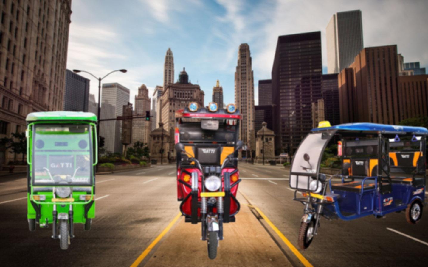 gatti e-rickshaw,electric rickshaw,e rickshaw