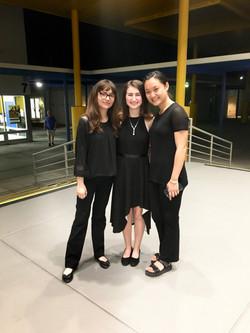 Hannah, Charlotte and Kailin