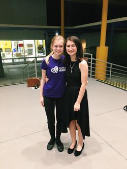 Aitana and Charlotte