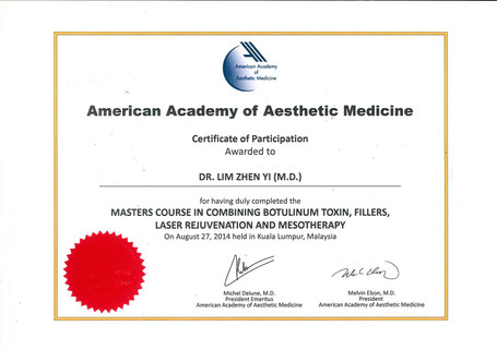 Master Course in combining Botox, Fillers, Laser Rejuvenation & Mesotherapy