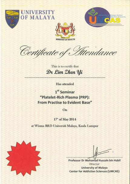 PRP - Univeristy of Malaya