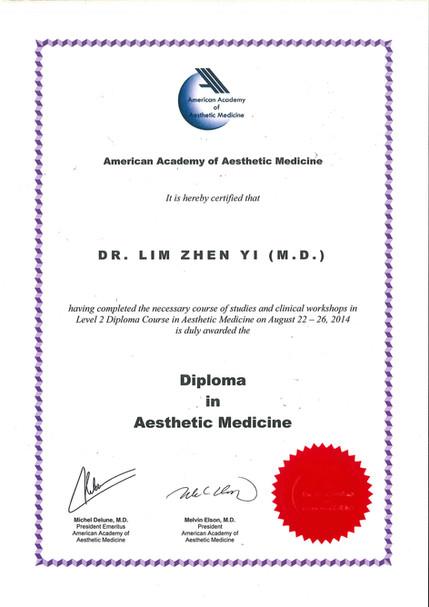 Diploma in Aesthetic Medicine