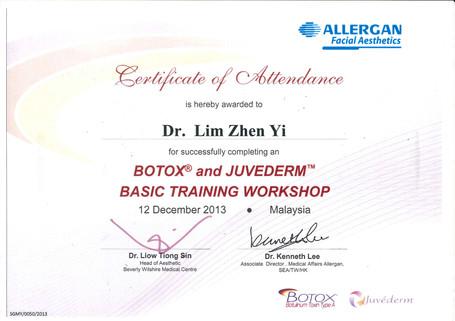 Botox and Juvederm Basic Training
