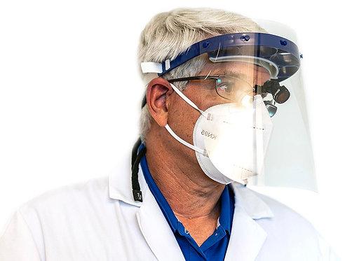DP Defender 5S Dental Face Shield Kit