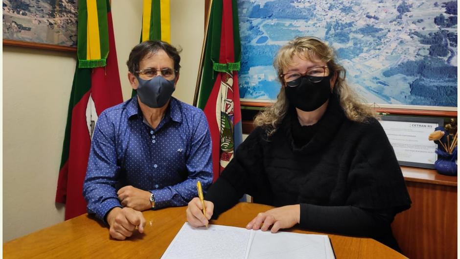 Patricia Schommer se torna a primeira mulher brochiense a assumir o Poder Executivo Municipal