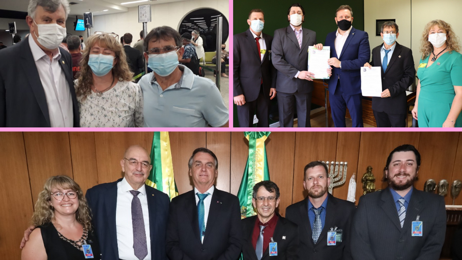 Comitiva brochiense viaja para Brasília em busca de recursos!