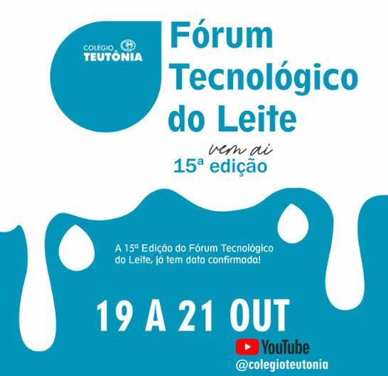 Fórum Tecnológico do Leite realiza ciclo de palestras online!