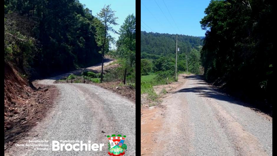 Estradas da localidade de Água Fria recebem manutenção e melhorias!