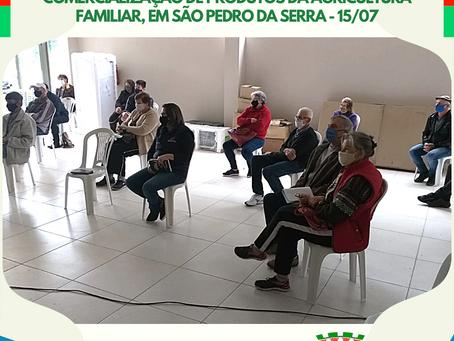 SMAMAIC participa de reunião no Centro de Comercialização de Produtos da Agricultura Familiar