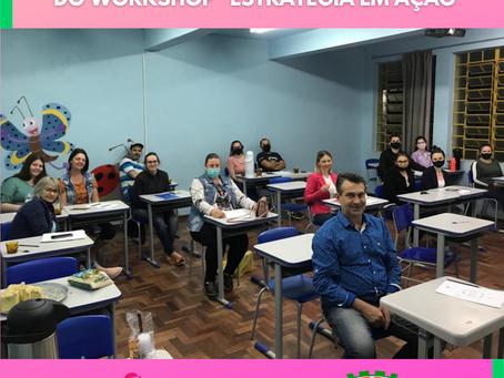"""Empreendedores brochienses participam do workshop """"Estratégia em Ação""""!"""