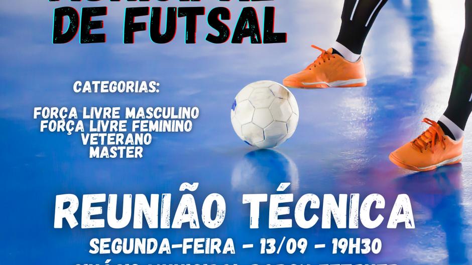 Vem aí o Campeonato Municipal de Futsal de Brochier!