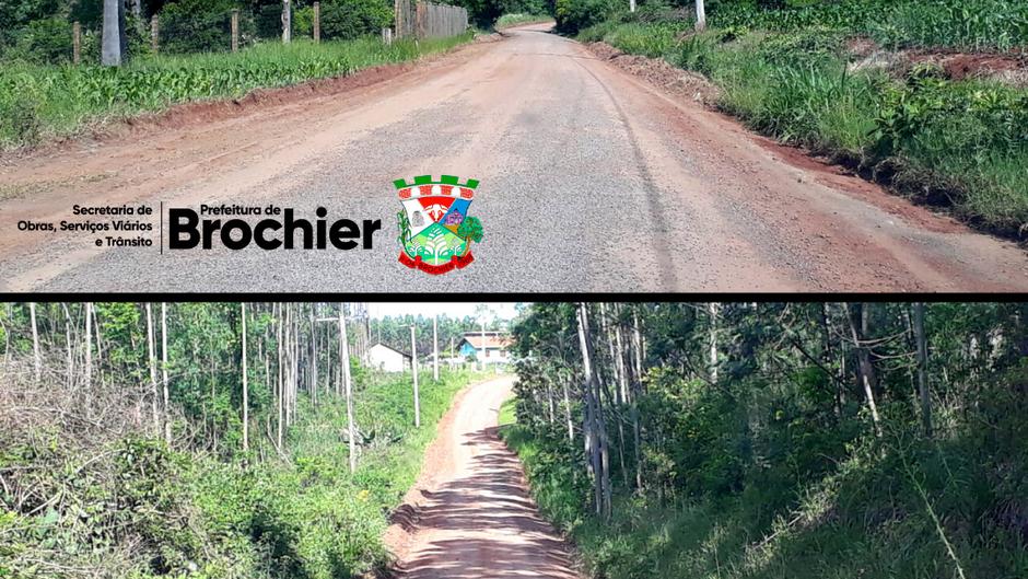 Estradas da localidade de Vila Nova recebem manutenção e melhorias!