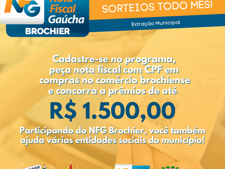 Nota Fiscal Gaúcha, compre essa ideia!