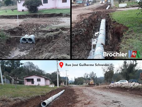 Inicia a segunda etapa das obras de revitalização da Rua José Guilherme Schneider!